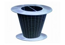 Active  carbon fiber filter for exhaust air system