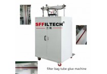 Filter bag glue coating machine for filter bag no thread hole