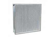 High temperature panel filter
